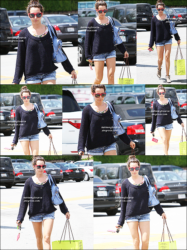9 mai 2011 - Ashley a été faire du shpping Planet Blue à Los Angeles.  Top ou flop ?  10 mai 2011 - Ash Sortant d'une réunion à Studio City. Top ou flop ?