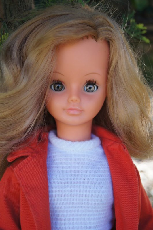 cathie tenue maxi manteau 1970