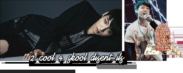 ➠ 2 cool 4 skool disent-ils