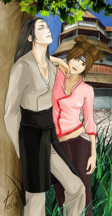 Neji Hyûga et Tenten