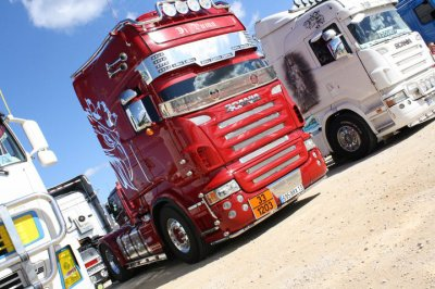 le scania d'herve en preparation