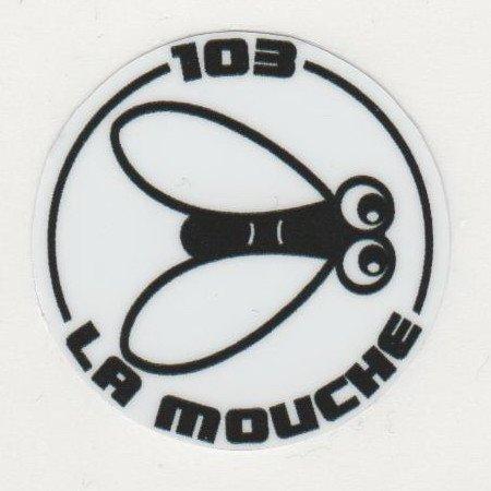 LOGOS PERSONNELS : mon logo lié à ma signature personnelle, 103 La Mouche. Mes 2 serigraphies de mes 2 derniers mobylettes Peugeot 103, Gazelle, Family.