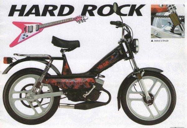 JE CHERCHE UN TANK. UN MBK 51 HARD ROCK, d origine, complete, état correct, cylindre air.