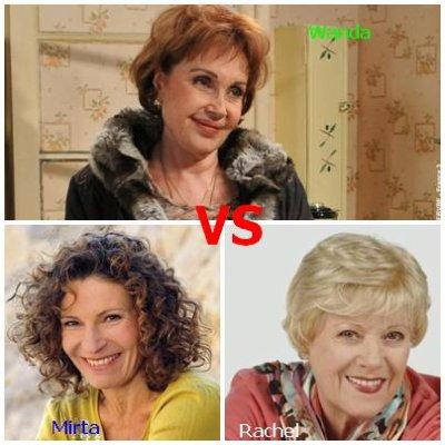 Wanda VS Mirta VS Rachel