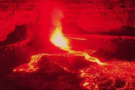 image de volcan en iruption :o