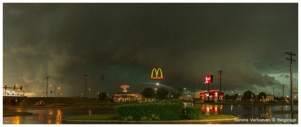 photo orage de la tornado alley