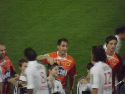 Match amical Laval/Brest