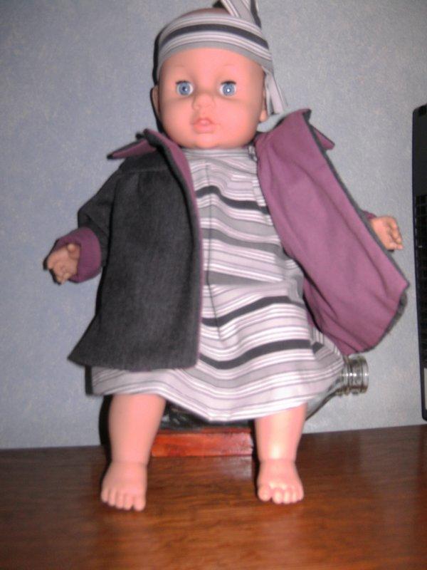 et voila  le  petit manteau de michel 1965