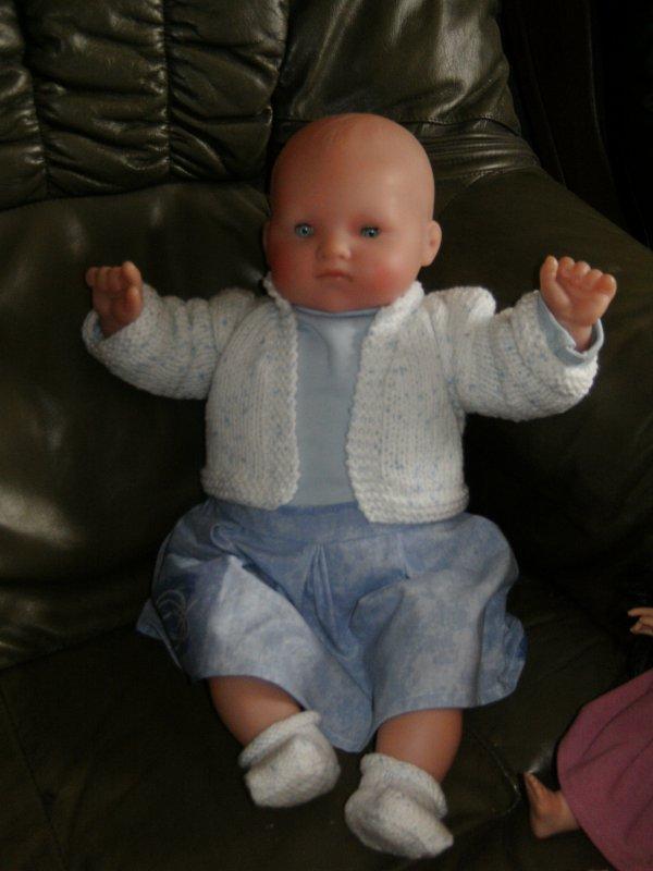 la petit tenue de mon bébé cheri
