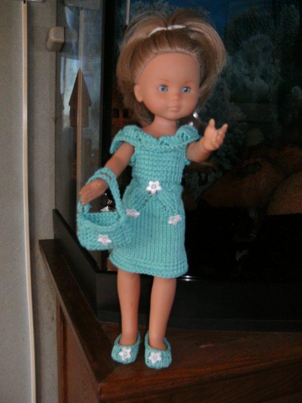 ma robe turquoise Amelioré
