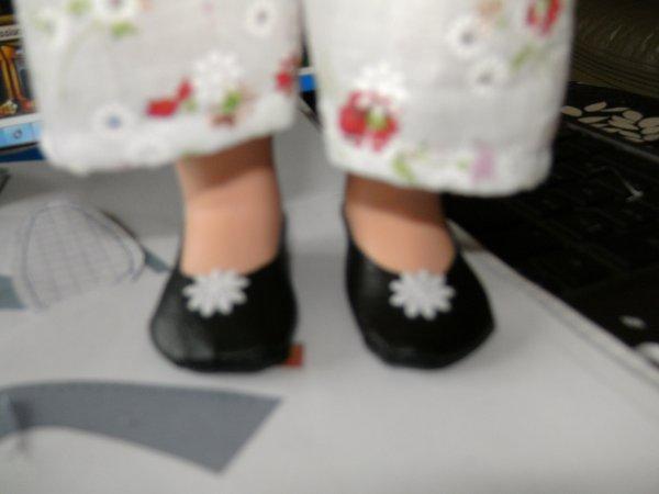 bonjour  je vous presente mes deux model de chaussure  que j'ai fais ce wk