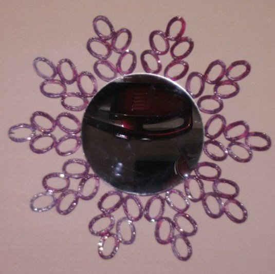 miroir  couleur  prune