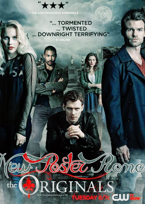. TVD-TheVampireDiaries-FR TVD + TO New Poster Promo .