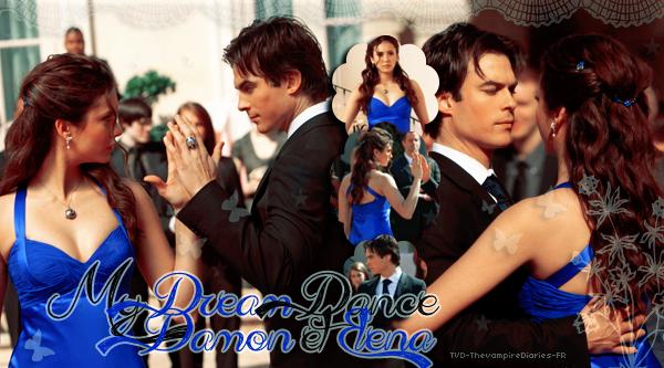 TVD-TheVampireDiaries-FR My Dream Dance: Damon & Elena (1x19) .