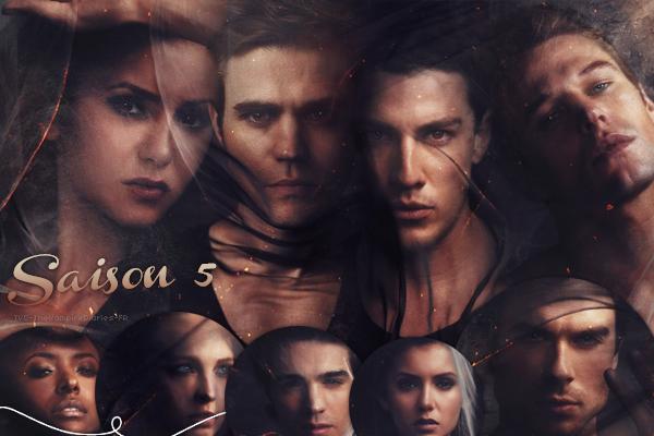 . TVD-TheVampireDiaries-FR Vampire Diaries Saison 5 .