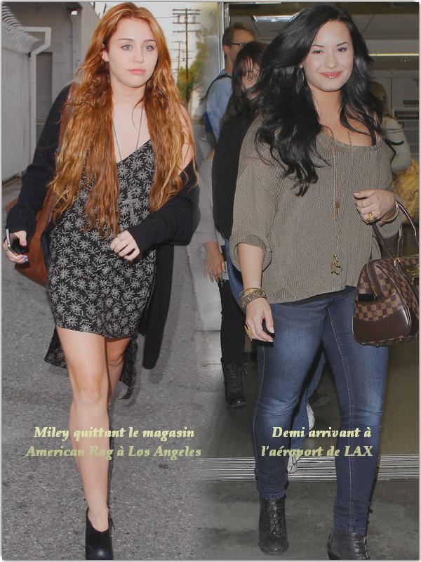 Miley & Demi,  17.O4.2O11Posté par Kelly