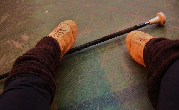 Le twirling bâton.