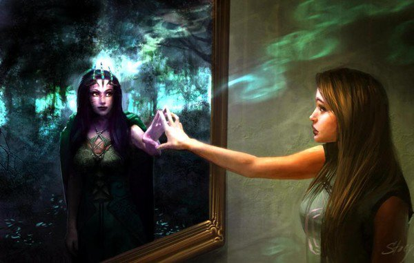Miroir et Vérité......