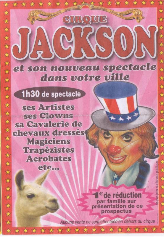 flyer cirque jackson