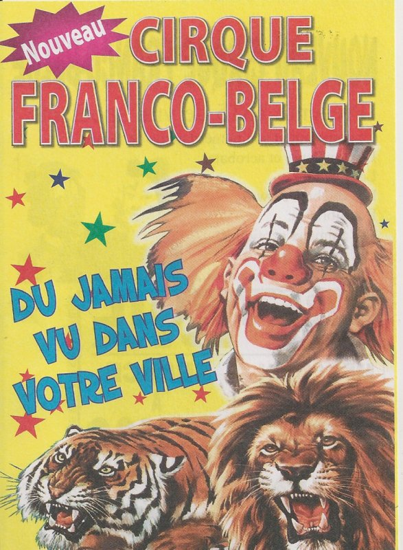 Flyer cirque Franco-belge