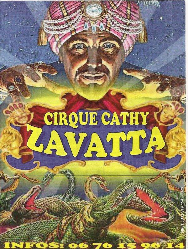 flyer cirque Cathy Zavatta