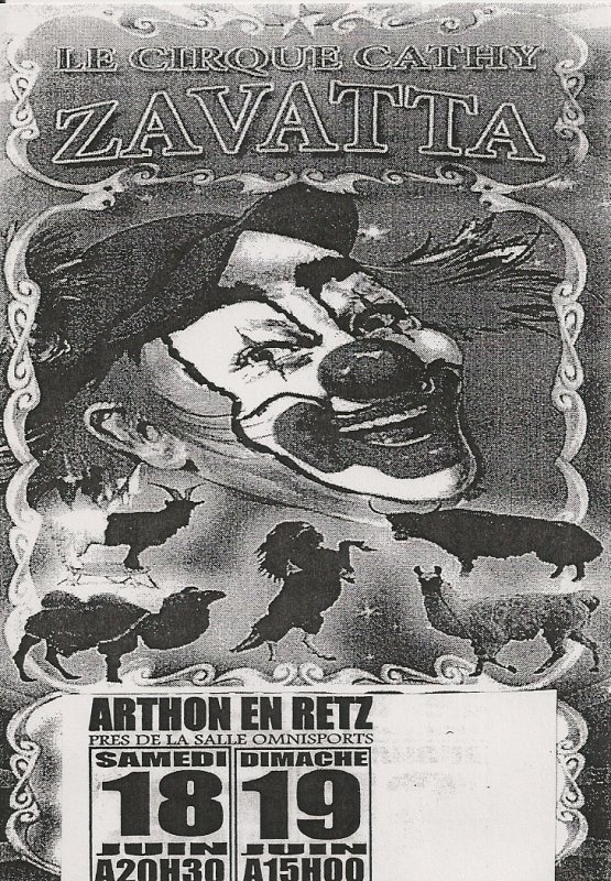 flyer cirque Cathy Zavatta