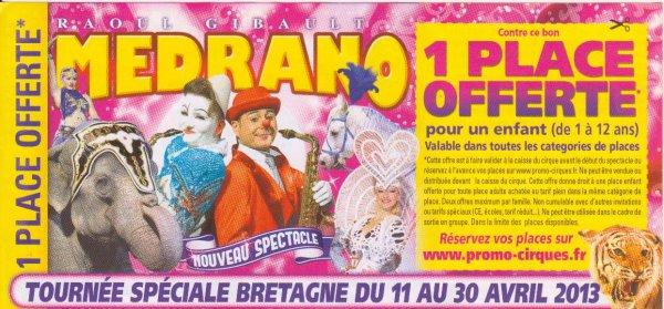 flyers cirque Medrano