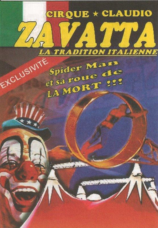flyers cirque claudio Zavatta