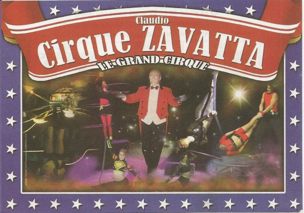 flyers cirque Claudio Zavatta suite