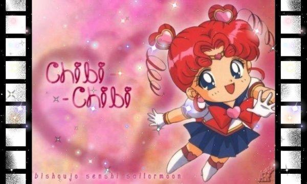 Sailor Moon's Arrière plan Chibi Moon, Chibi-chibi Moon de ma créationCes images sont de mes créations prenez les si vous voulez