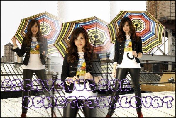 Bievenue sur DemetriaxLovat ta source quotidienne sur la belle, jeune et talentueuse Demi Lovato :)