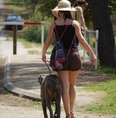 <3 Moi et mon chien <3