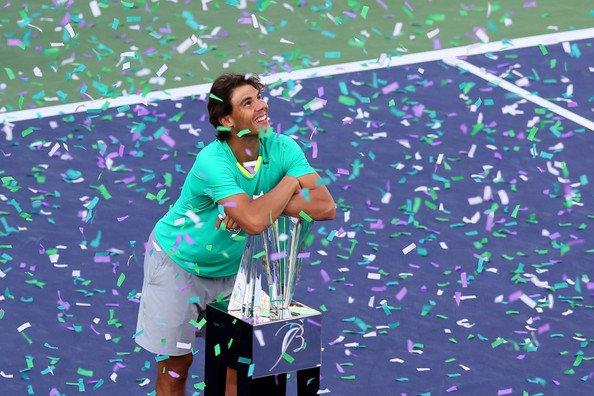 Indian Wells: un tournoi fait de petits plaisirs pour le champion !
