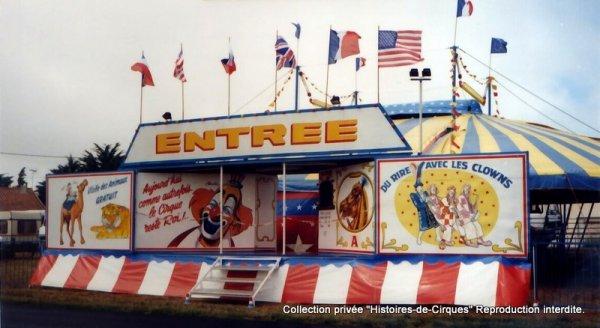 Le Cirque ALBARON en 1995