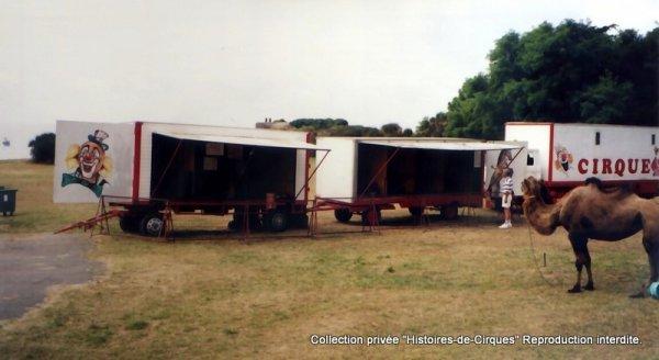 Le Cirque ALBARON en 1996