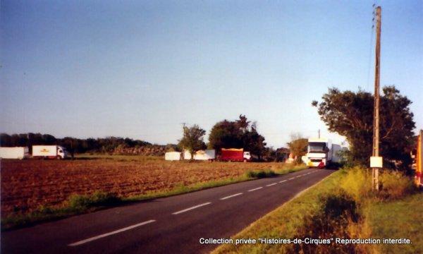 Le Cirque ALBARON en 2002