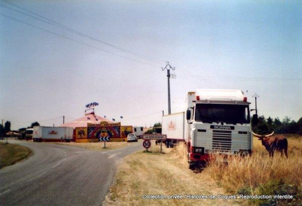 Le Cirque ALBARON en 2003