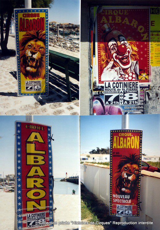 Le Cirque ALBARON en 2005