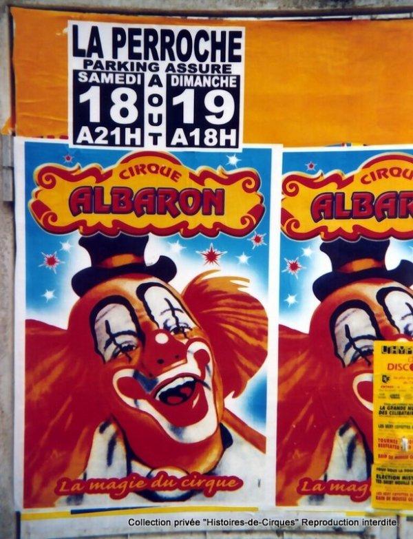 Le Cirque ALBARON en 2007