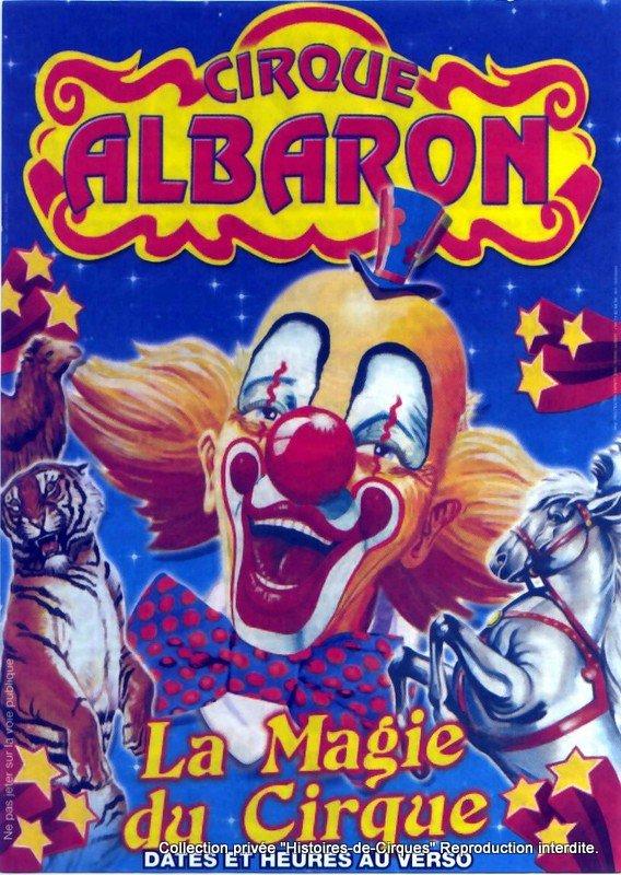Le Cirque ALBARON en 2009