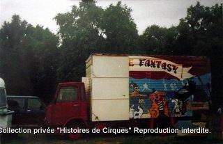 Cirque FANTAZY en 2000