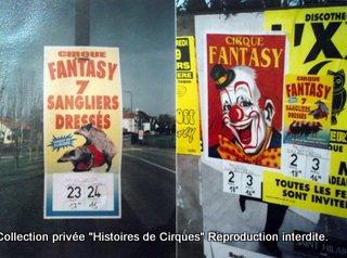 Cirque FANTAZY en 2002