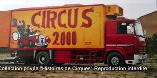 CIRQUE 2000 - famille ARTIGUE en 2001