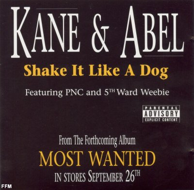 Kane & Abel - Shake It Like A Dog *single*