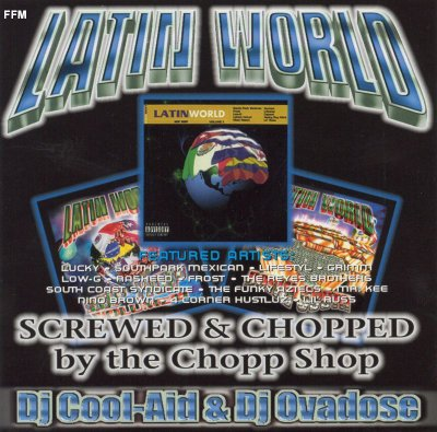 VA - Latin World (Screwed & Chopped)