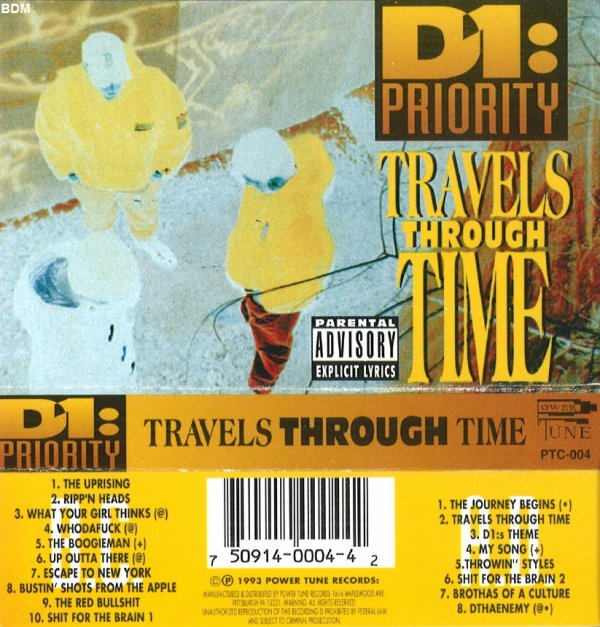 D1: Priority - Travels Through Time *tape*