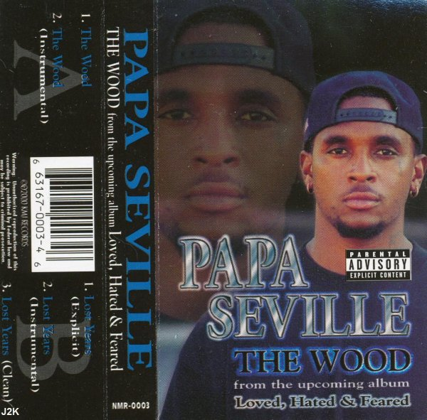 Papa Seville - The Wood *tape single*