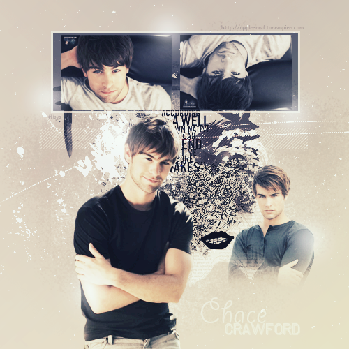 Photoshop ~ Blend Chace Crawford