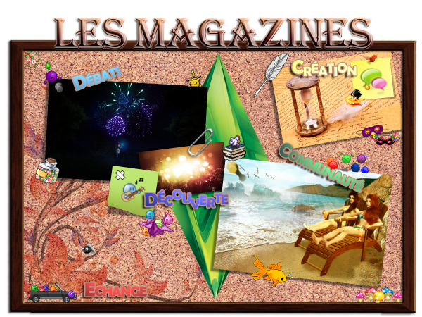 Magazines simsiens