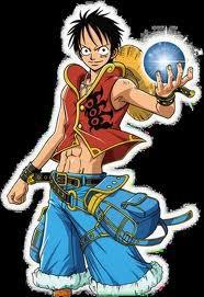 Monkey D.Luffy en ninja !!!